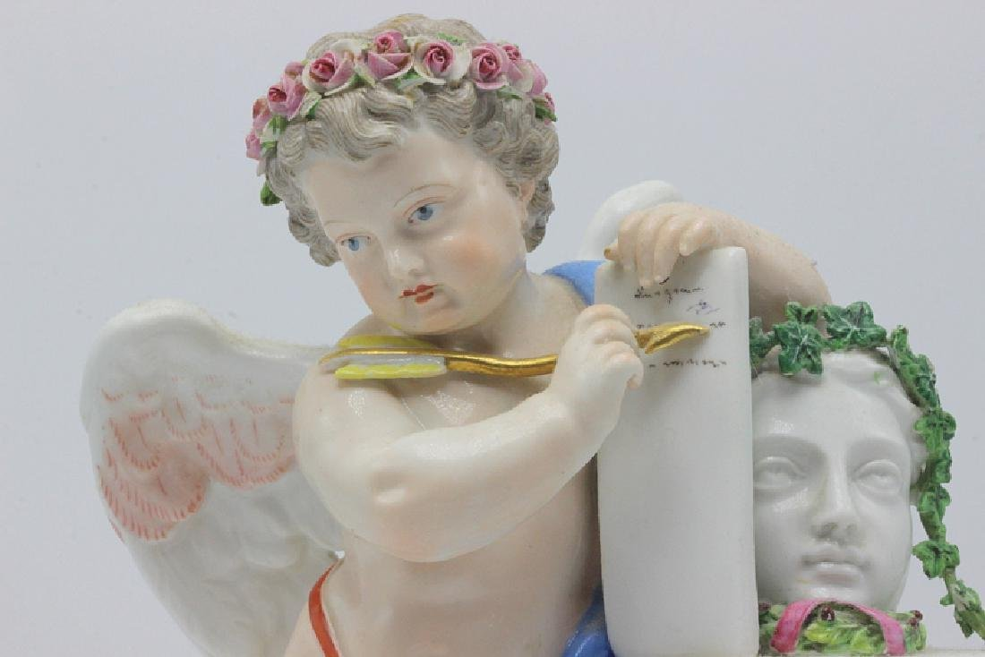 19th C. Meissen Figure of Cupid in a Classical Pose - 2