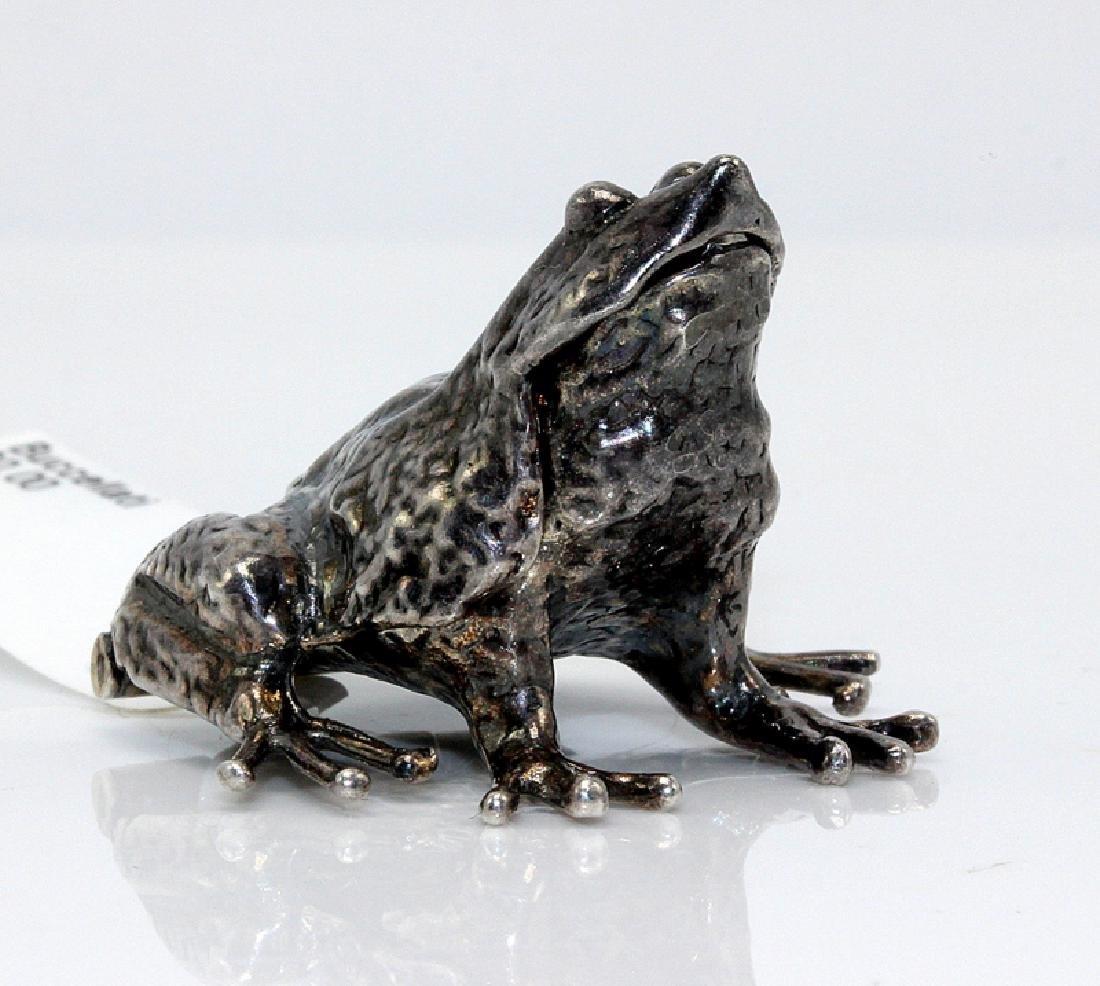 Buccellati .925 Silver Frog Pendant