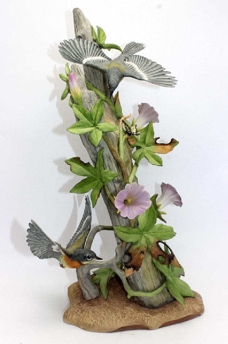 """Boehm """"Parula Warblers"""" Porcelain Group"""