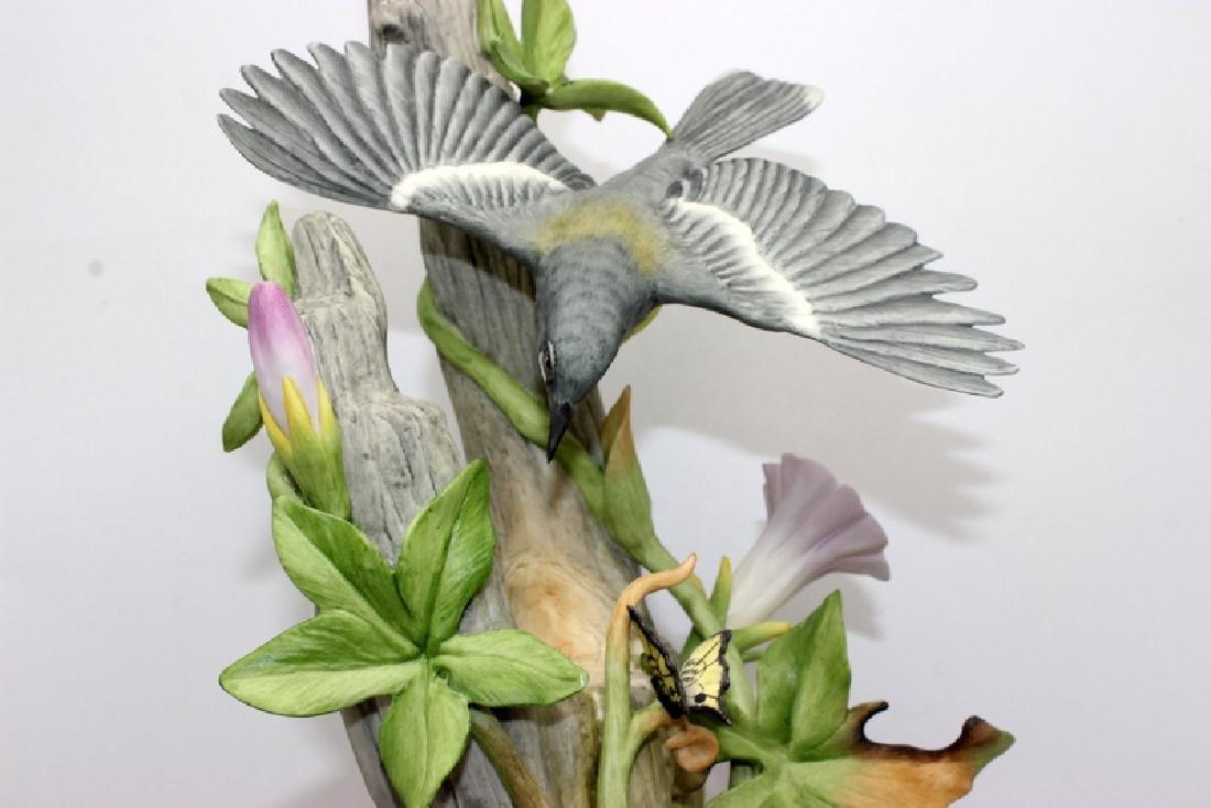 """Boehm """"Parula Warblers"""" Porcelain Group - 2"""