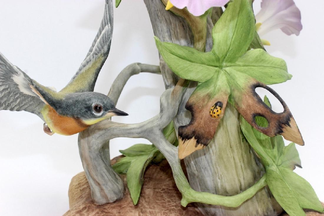 """Boehm """"Parula Warblers"""" Porcelain Group - 3"""