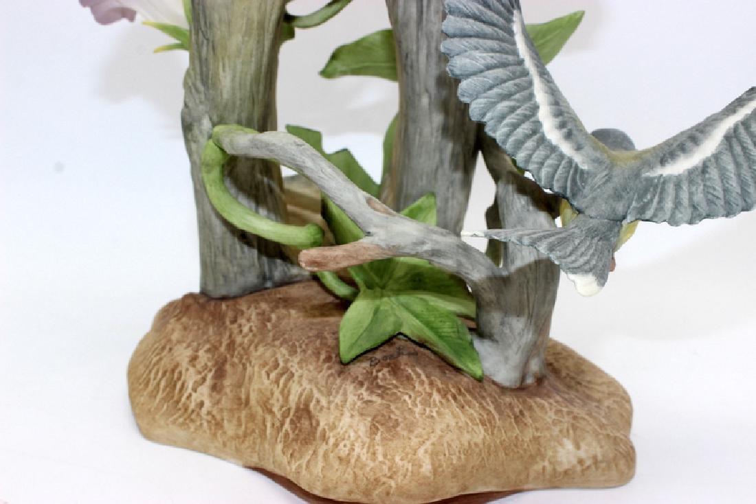 """Boehm """"Parula Warblers"""" Porcelain Group - 4"""