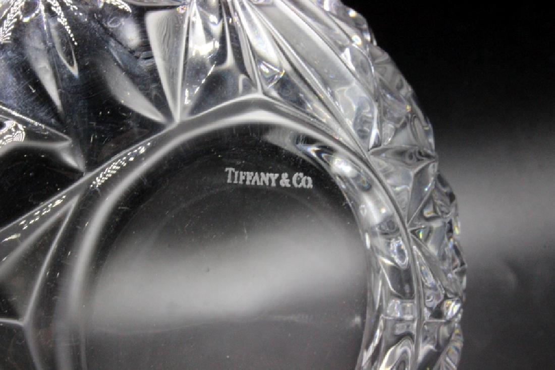 Tiffany & Co. Crystal Candy Dish - 3