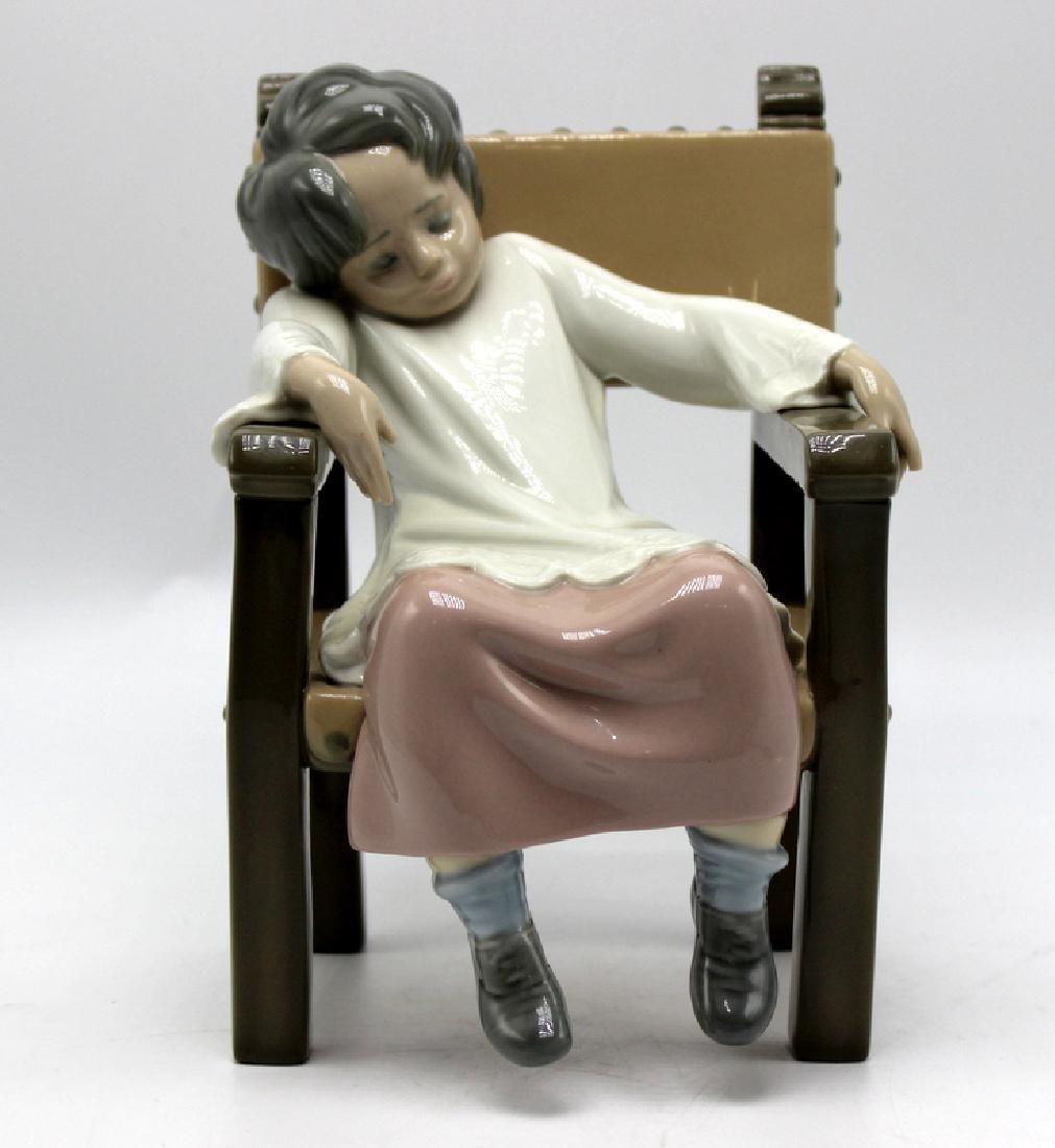 "Lladro ""Choir Boy"" Porcelain Figure"