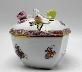Herend Porcelain Box & Cover