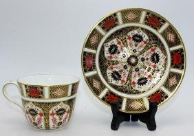 "Royal Crown Derby ""Old Imari"" Set of (6) Coffee Cups &"