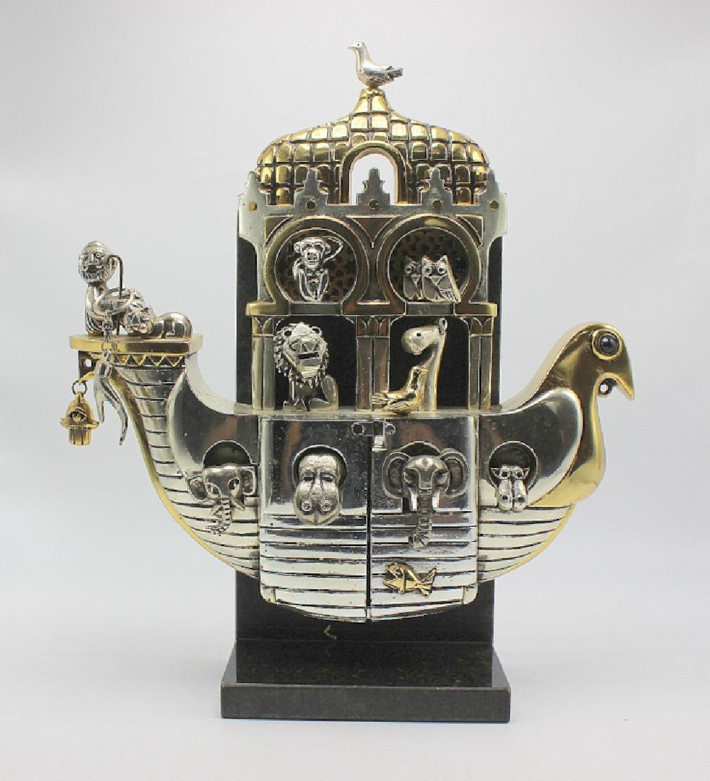 "Frank Meisler ""Noah's Ark"" Sculpture"