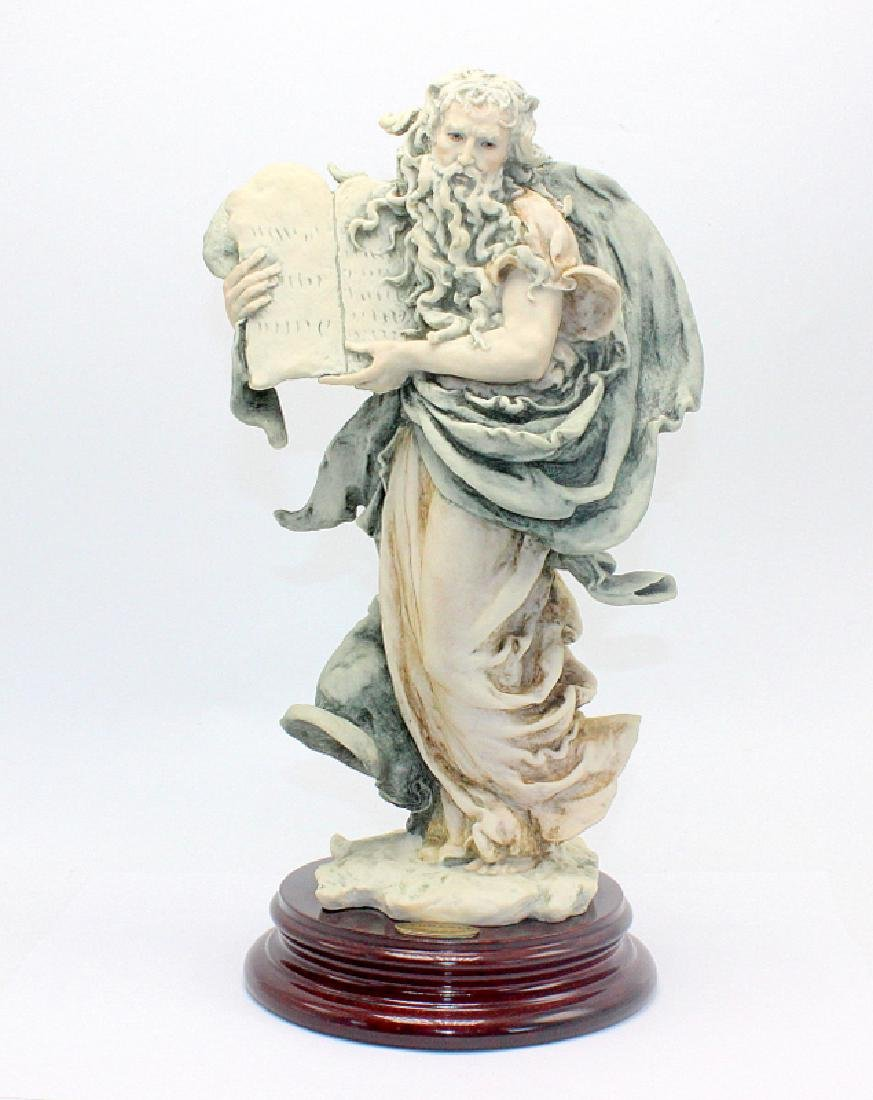 Capodimonte Style Figure of Moses