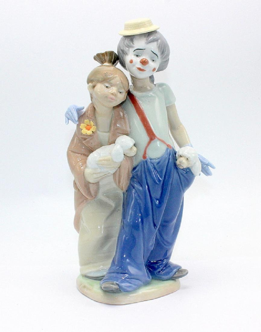 """Lladro #7686 """"Pals Forever"""""""