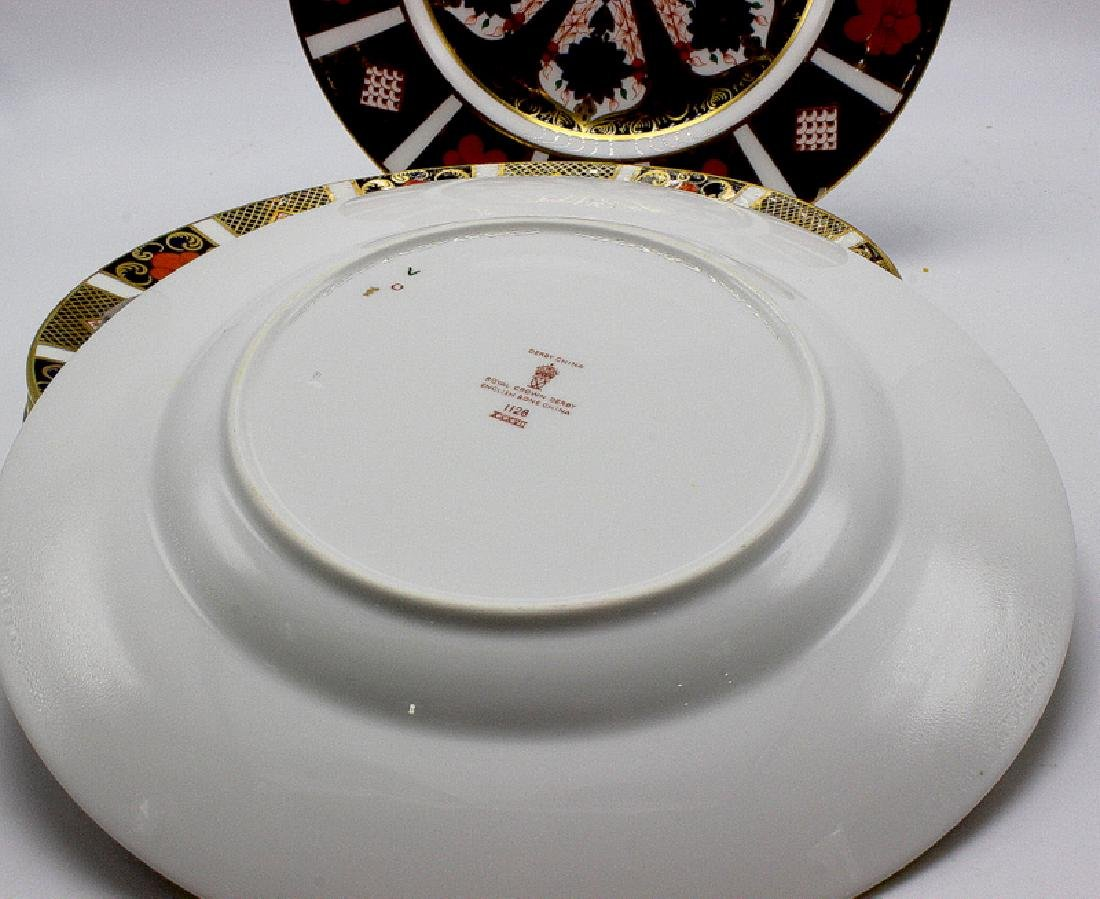 "Royal Crown Derby ""Old Imari"" (6) Salad Plates - 3"