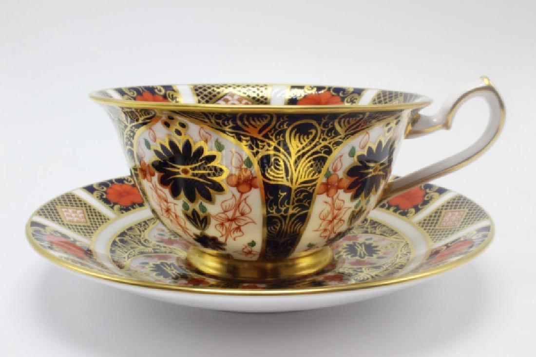 "Royal Crown Derby ""Old Imari"" (4) Cups & Saucers - 2"