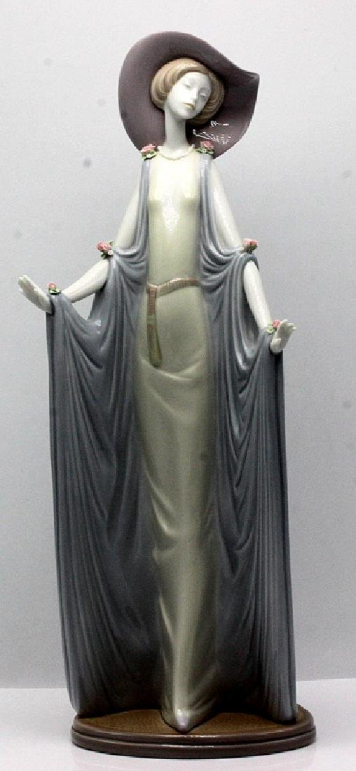 "Lladro ""Girl with Shawl Blanket"" Porcelain Figure"