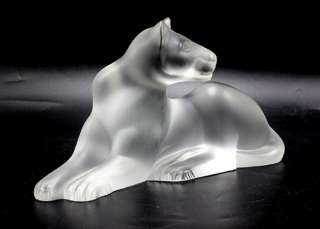 Lalique Crystal Panther - 3