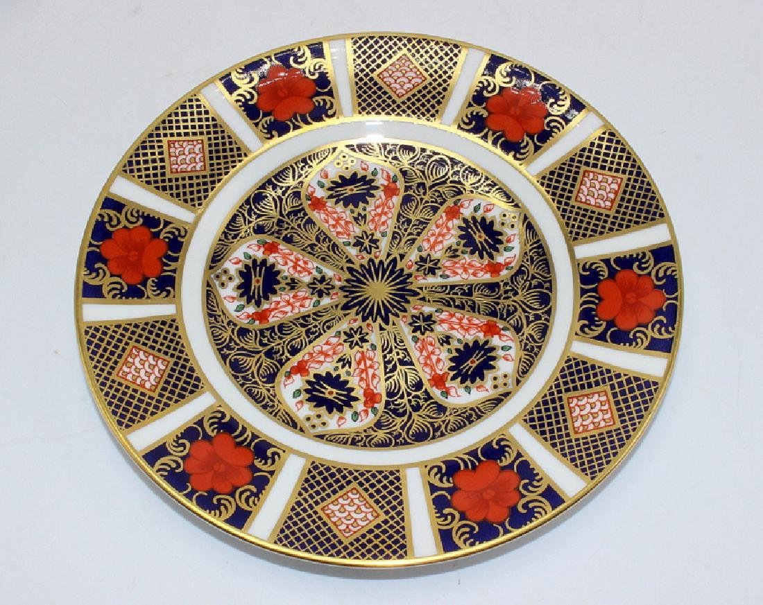 "Royal Crown Derby ""Old Imari"" (6) Bread & Butter Plates"