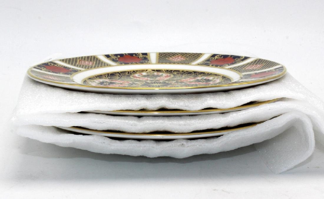 "Royal Crown Derby ""Old Imari"" (6) Bread & Butter Plates - 2"