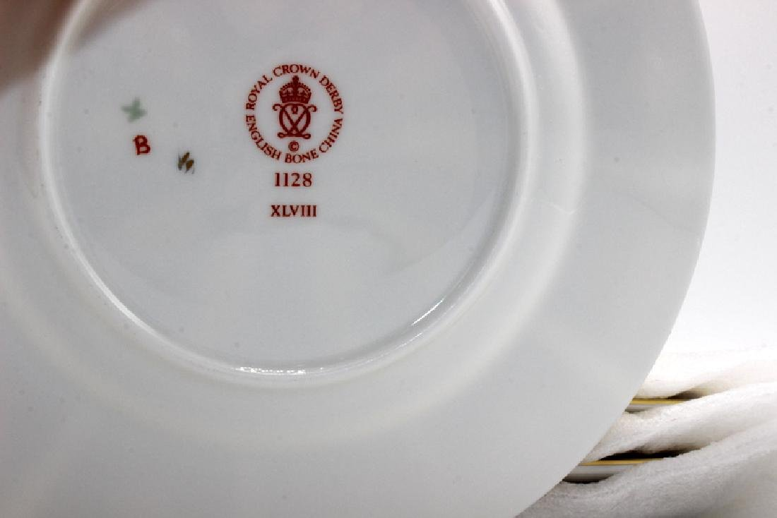 "Royal Crown Derby ""Old Imari"" (6) Bread & Butter Plates - 3"