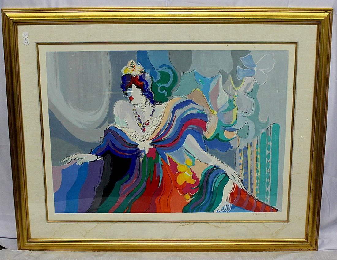 "Isaac Maimon ""Courtesan"" Serigraph #253/275"