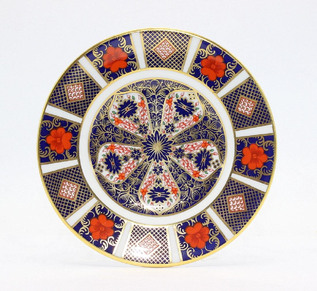 """Royal Crown Derby """"Old Imari"""" (6) Bread & Butter Plates"""