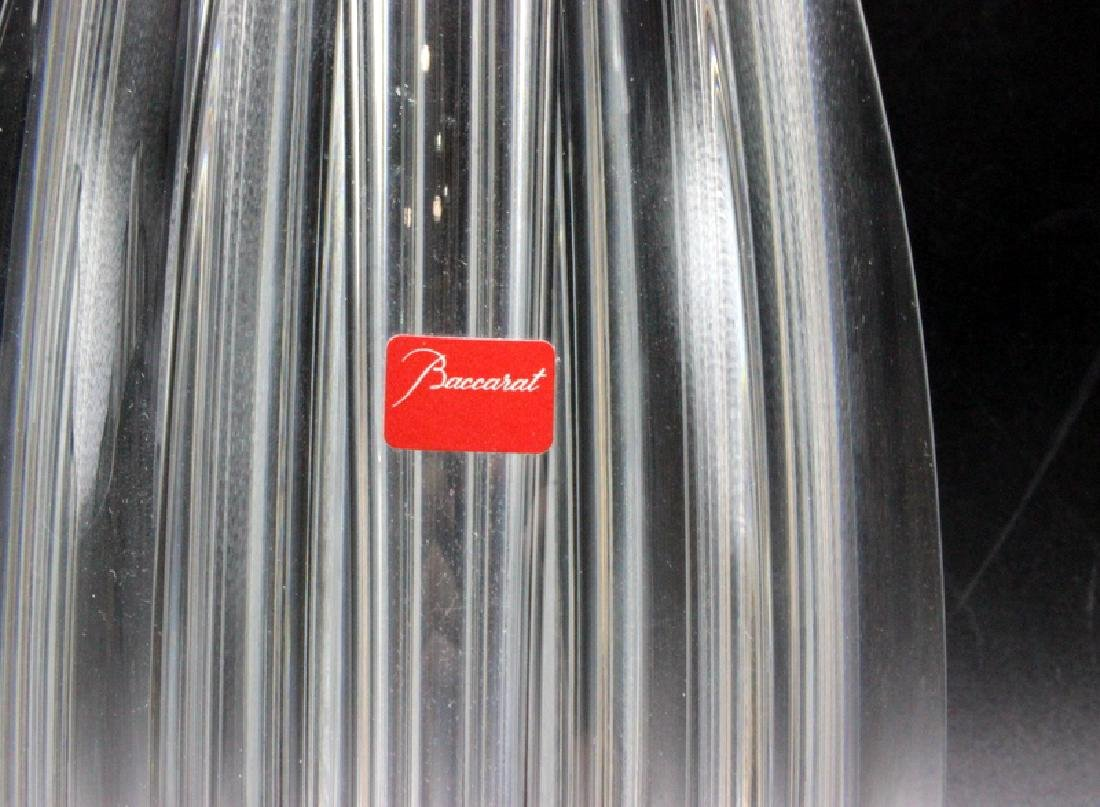 Baccarat (2) Glass Vases - 2