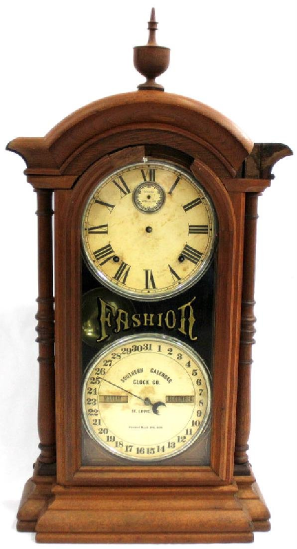 19th C. Southern Calender Clock Co.