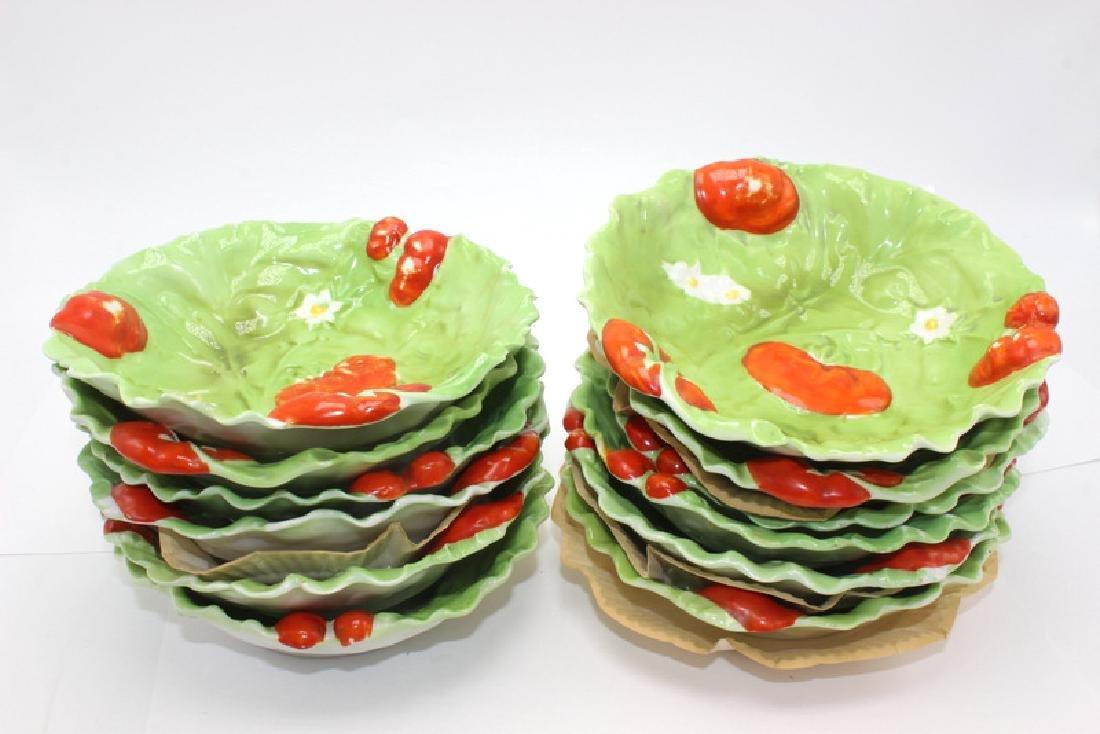 Royal Bayreuth (12) Tomato Bowls