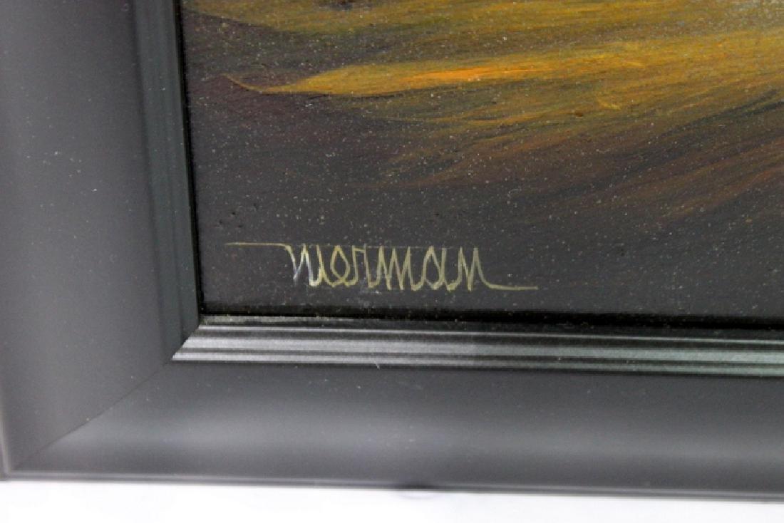 Leonardo Nierman Acrylic on Masonite - 3