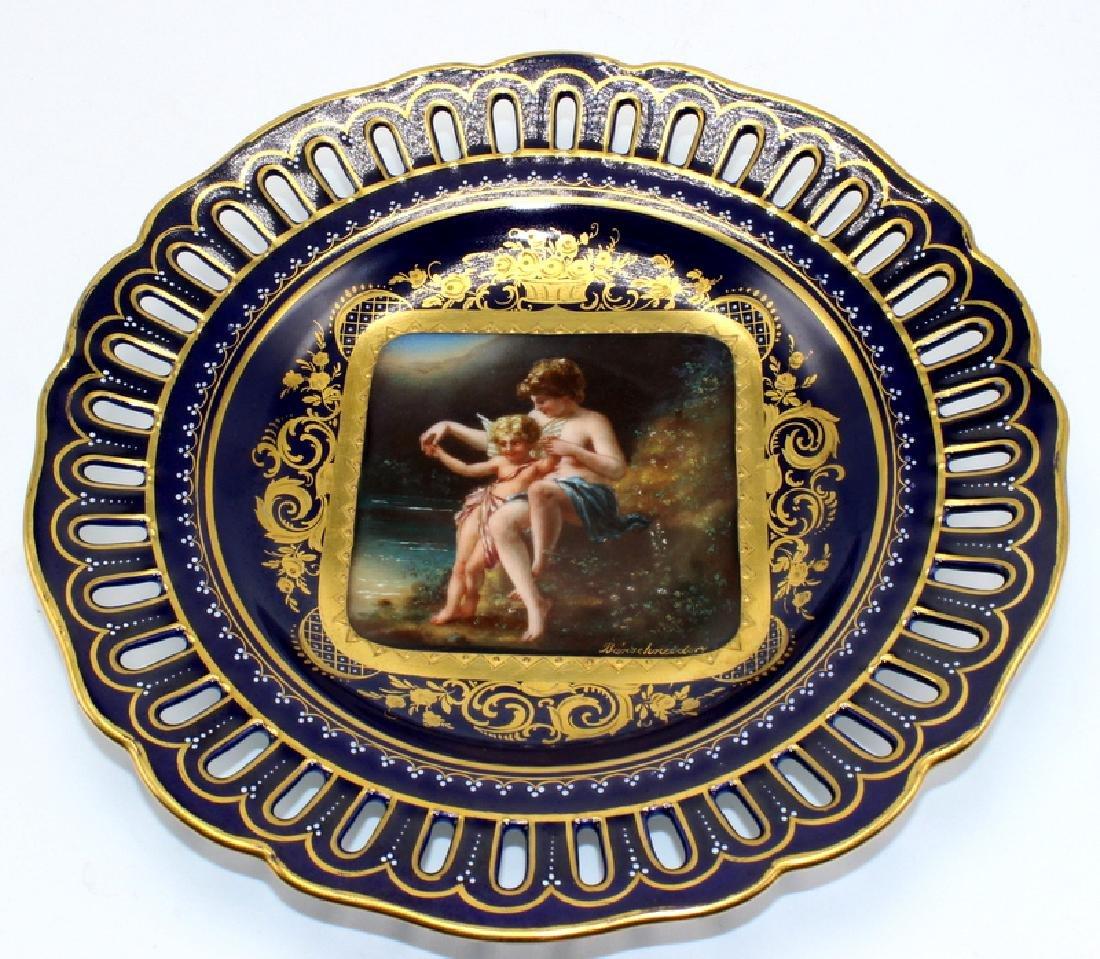"Royal Vienna Cabinet Plate ""Amor & Psyche"" Artist"
