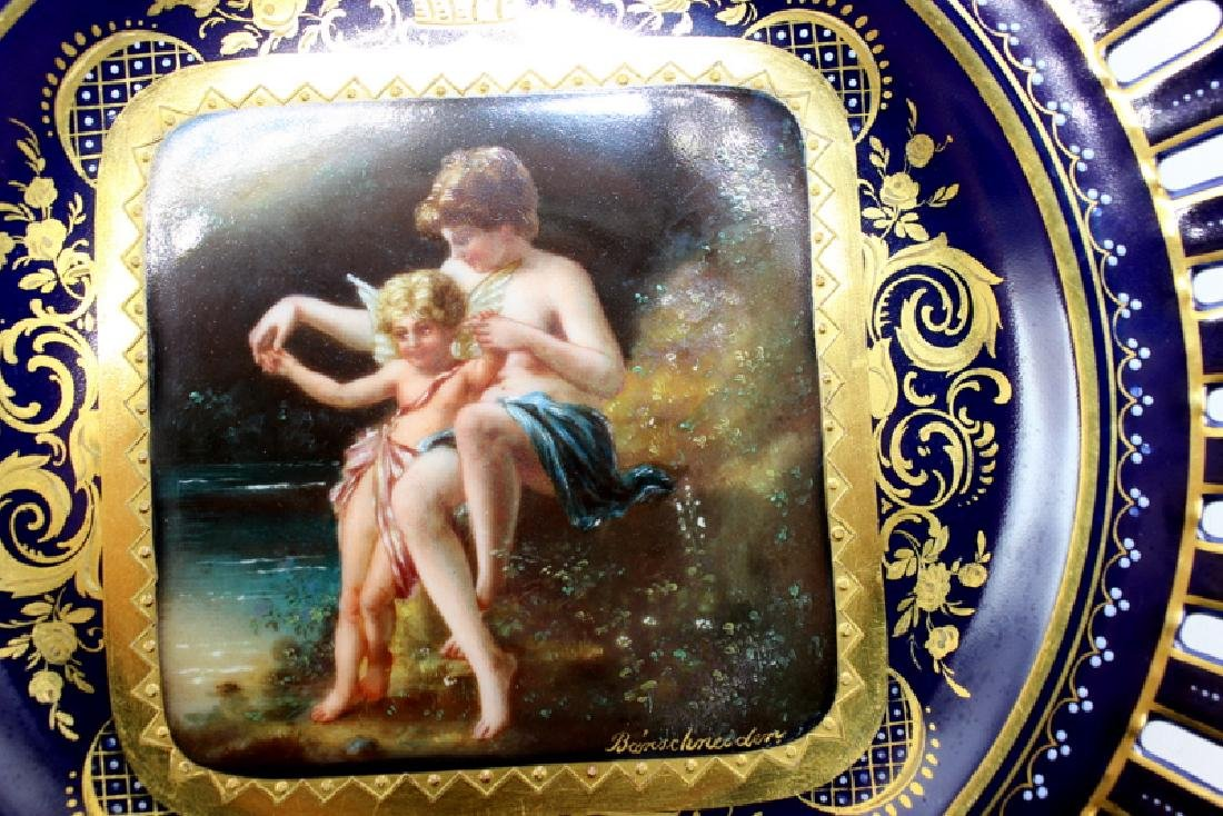 "Royal Vienna Cabinet Plate ""Amor & Psyche"" Artist - 2"