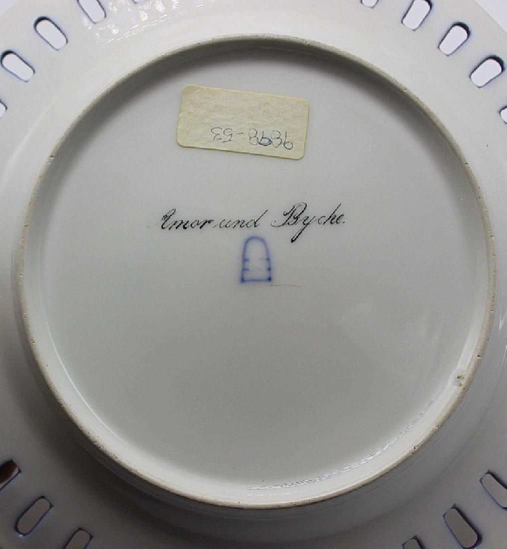 "Royal Vienna Cabinet Plate ""Amor & Psyche"" Artist - 3"
