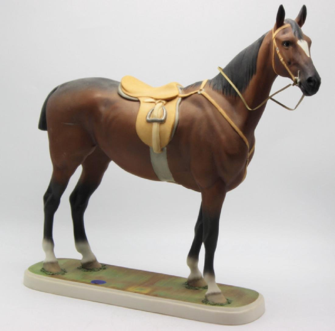 "Edward Marshall Boehm ""Hunter"" Porcelain Statue"