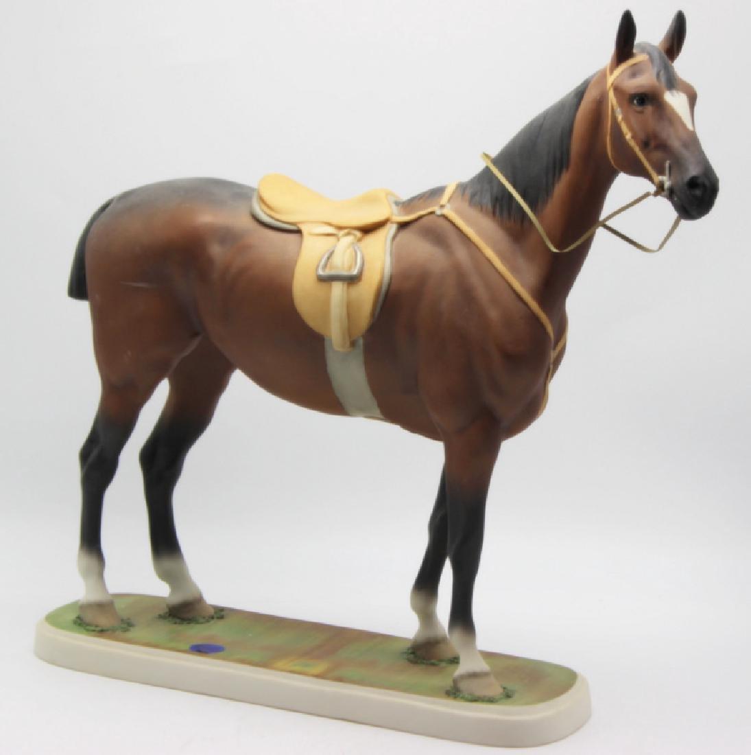 "Edward Marshall Boehm ""Hunter"" Porcelain Statue - 4"