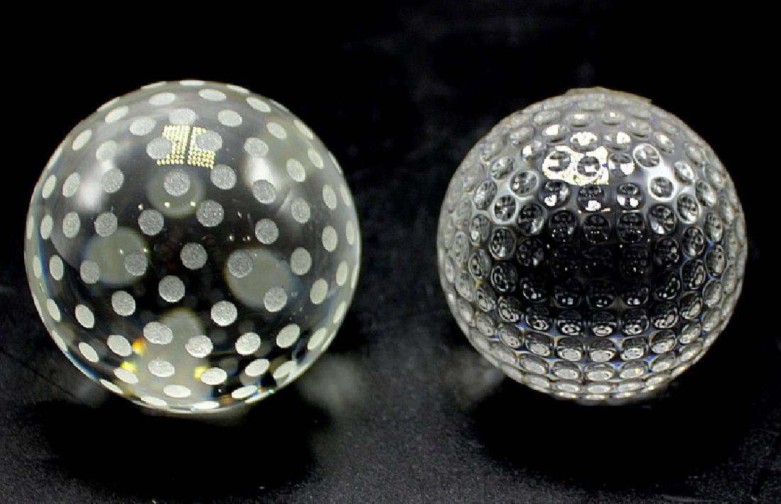 Tiffany & Co. & Waterford Paperweights
