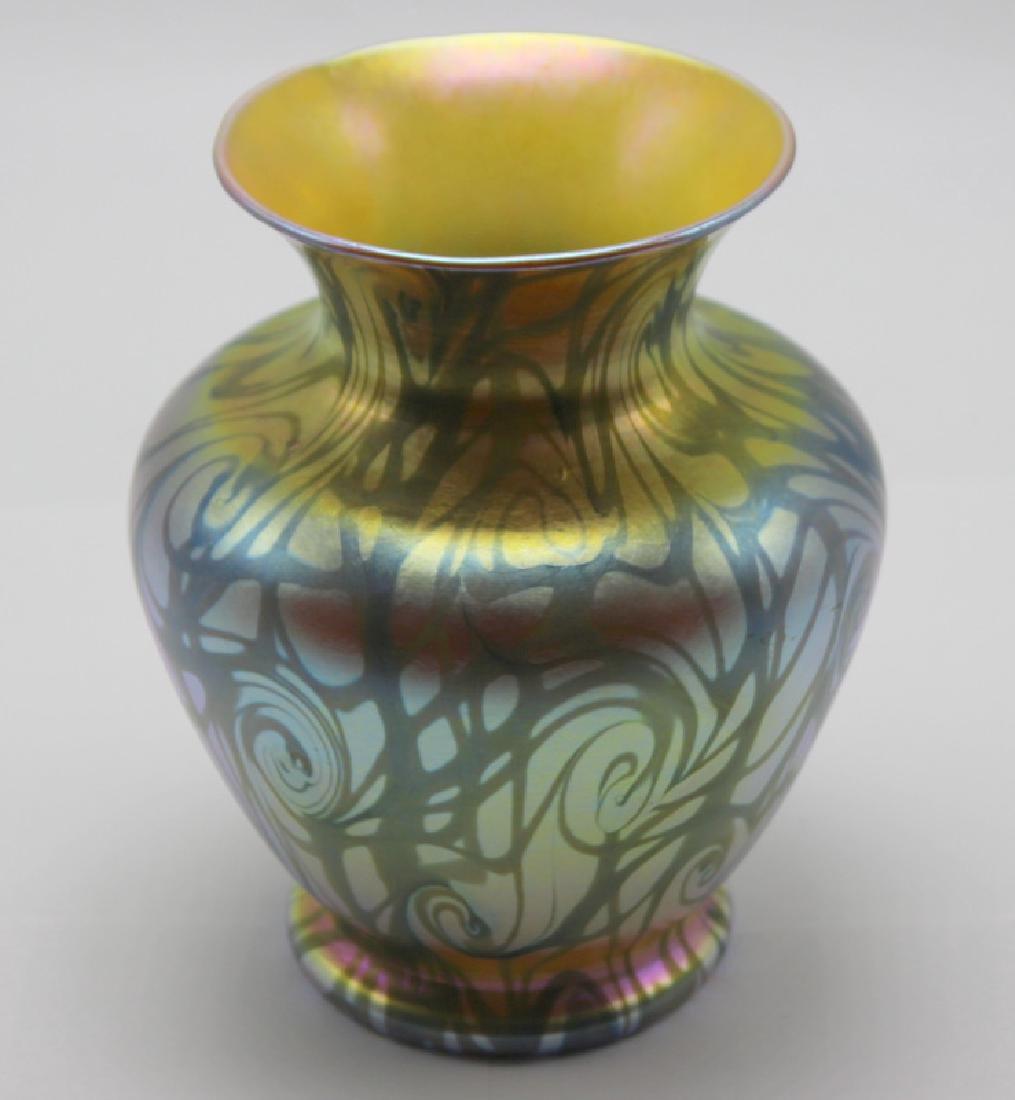 Durand King Tut Art Glass Vase