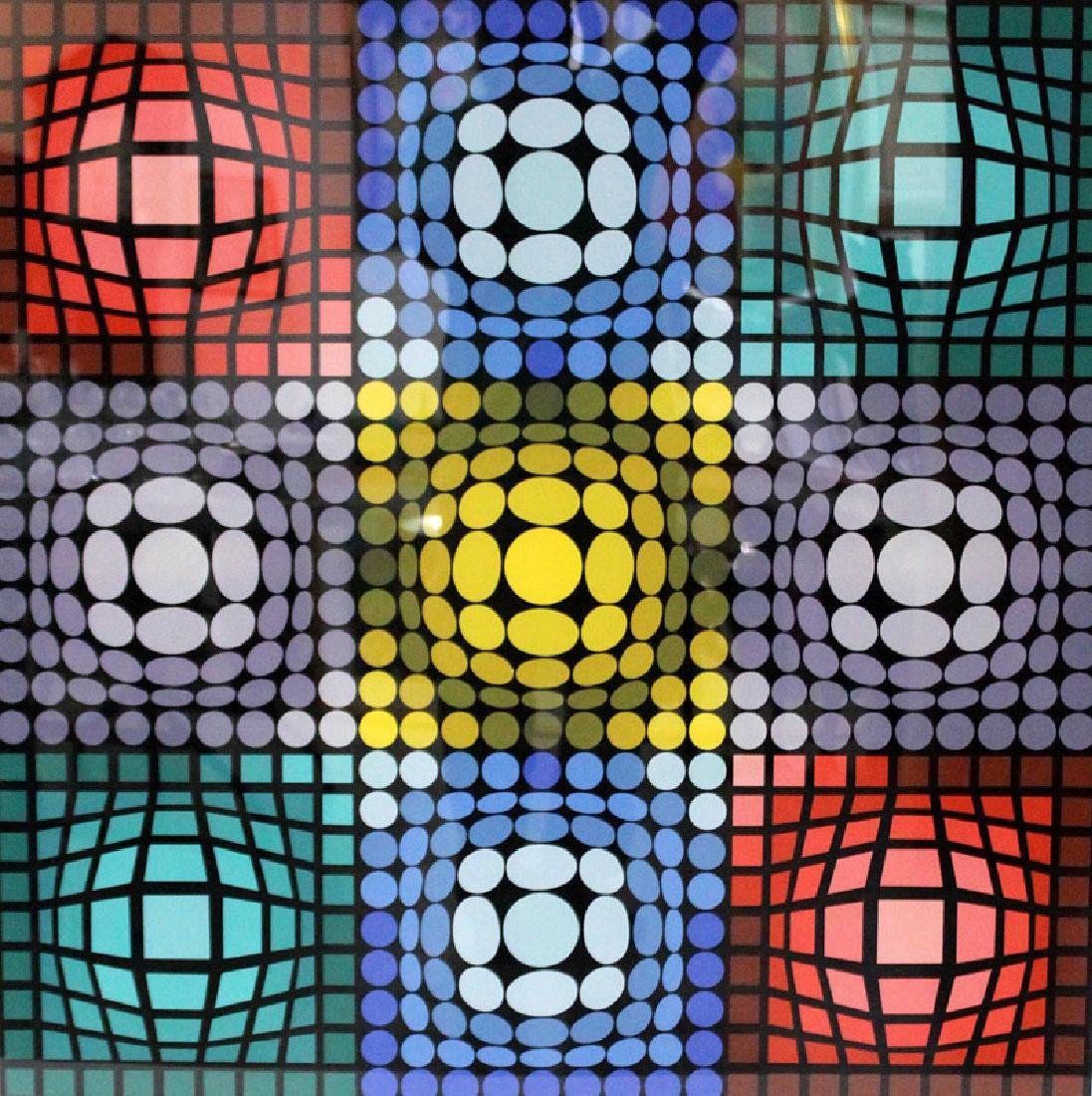 Victor Vasarely (French-Hungarian, b.1906-1997)