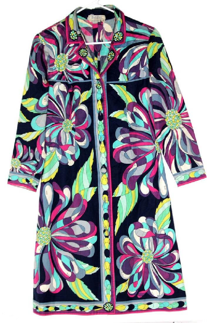 Emilio Pucci Florence Italy 100% Cotton Dress