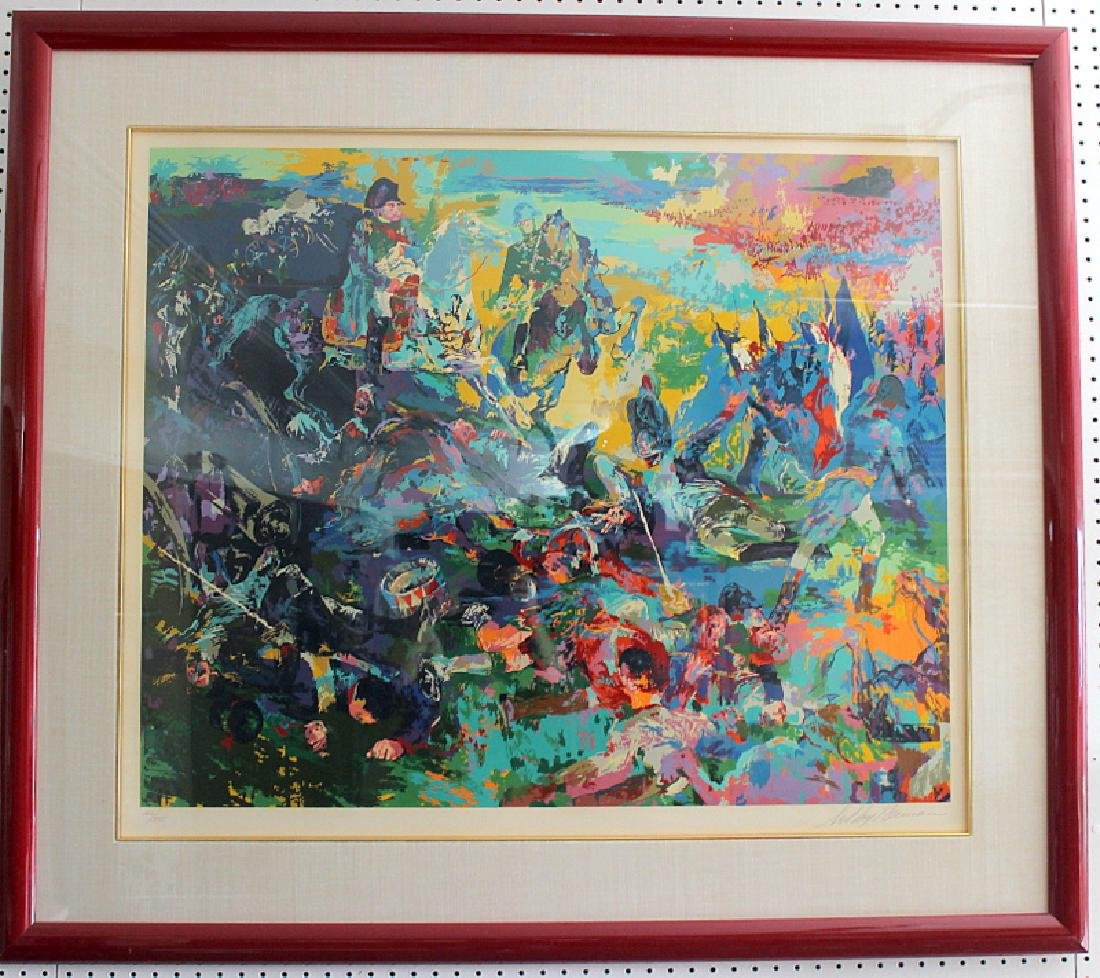 "LeRoy Neiman ""Napoleon at Waterloo"" Serigraph"