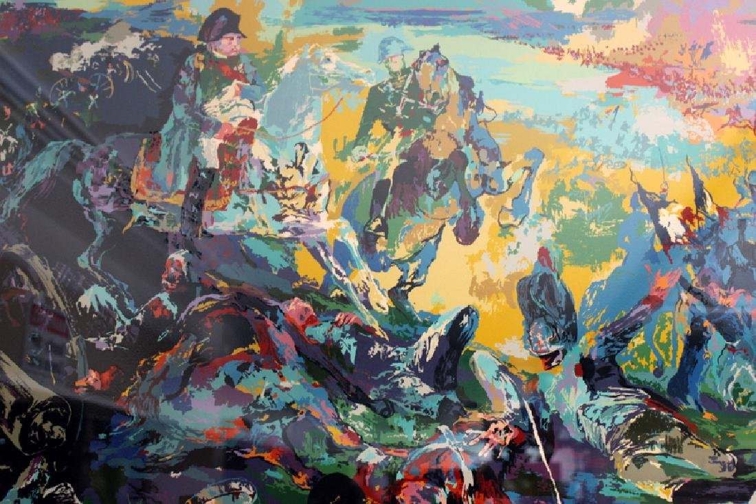 "LeRoy Neiman ""Napoleon at Waterloo"" Serigraph - 3"