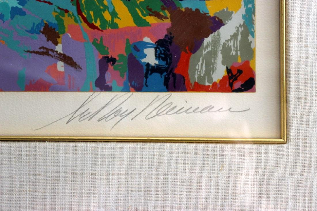 "LeRoy Neiman ""Napoleon at Waterloo"" Serigraph - 4"