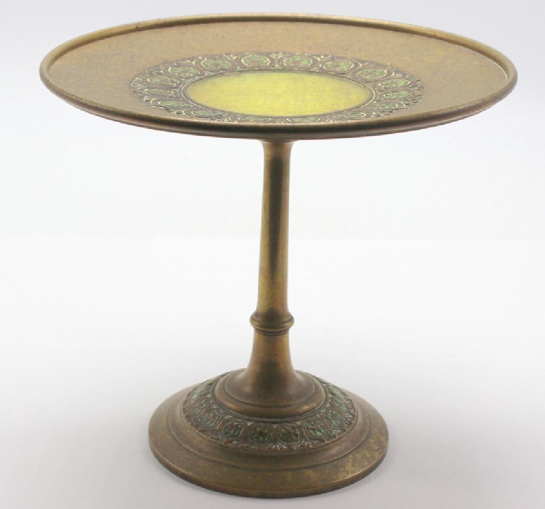Louis C. Tiffany Rare Furnaces #401 Enamele