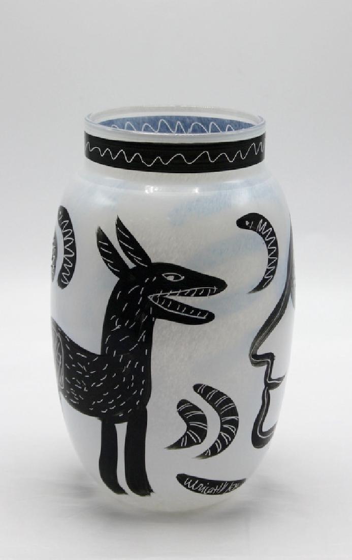 Kosta Boda Ulrica Hydman Vallien Caramba Vase - 2