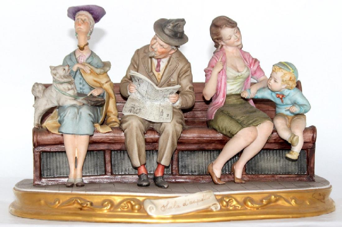 Italian Porcelain Group of People