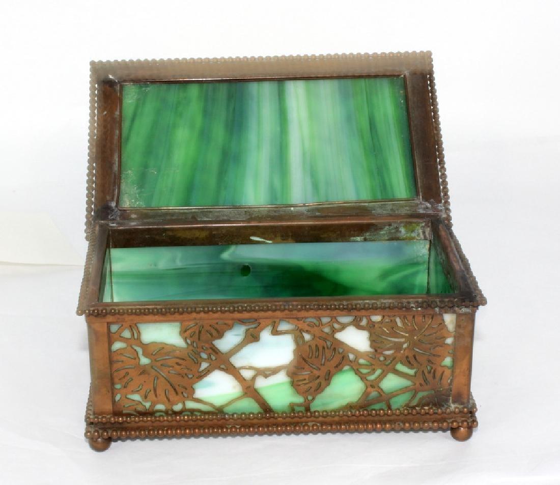 Tiffany Studios Grapevine Hinged Box - 2