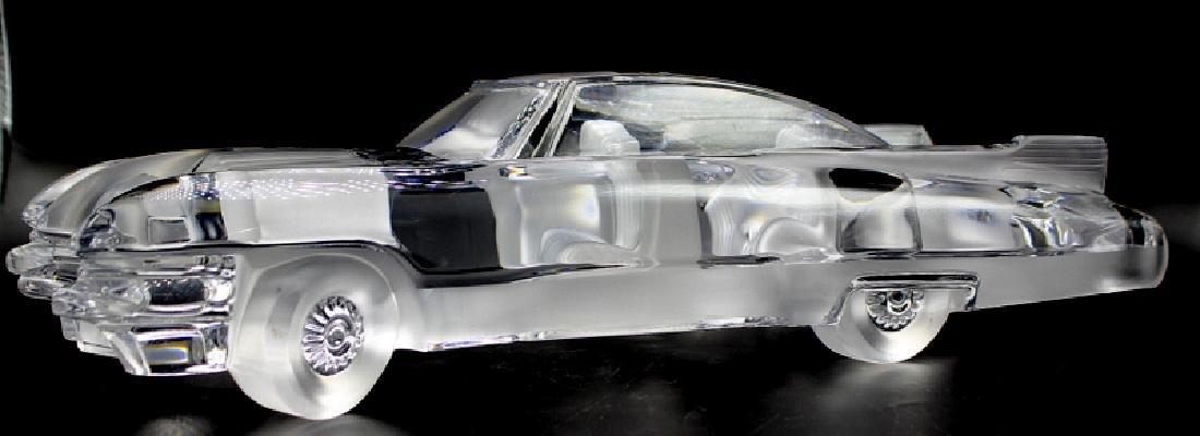 Daum Crystal Cadillac El Dorado