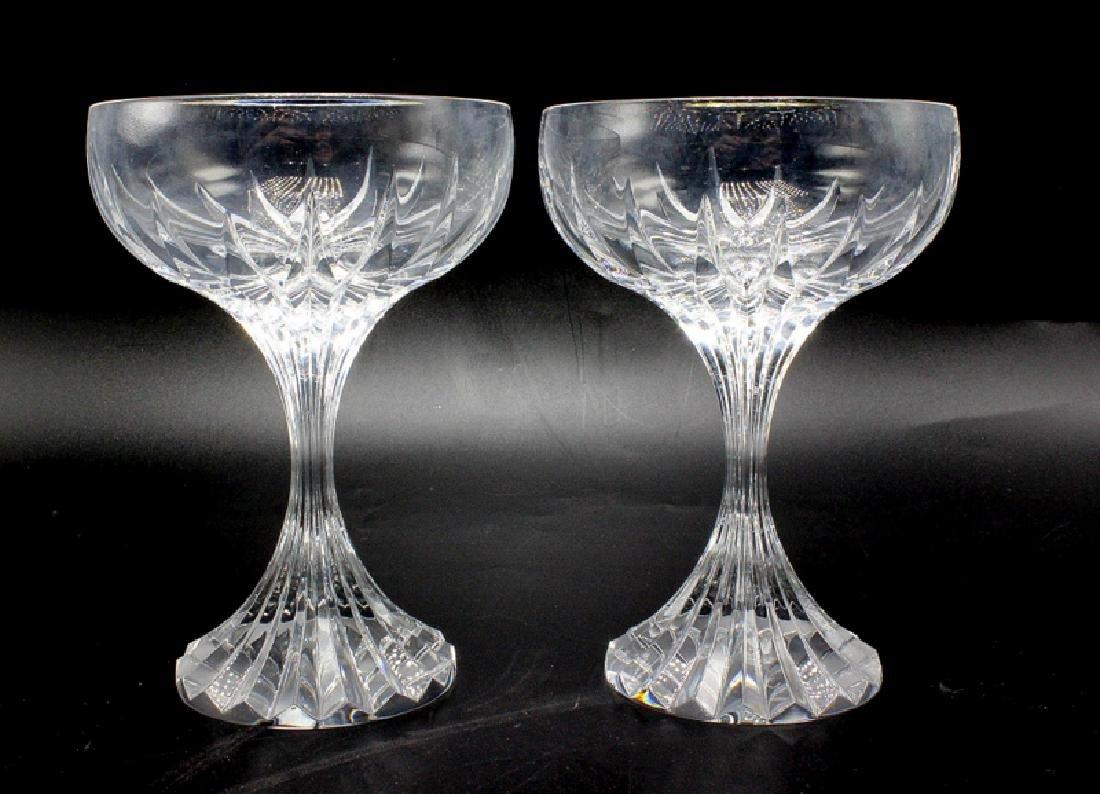 """Baccarat """"Massena"""" (6) Champagne"""