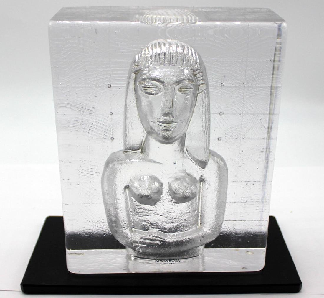 Kosta Boda Sculpture on Base