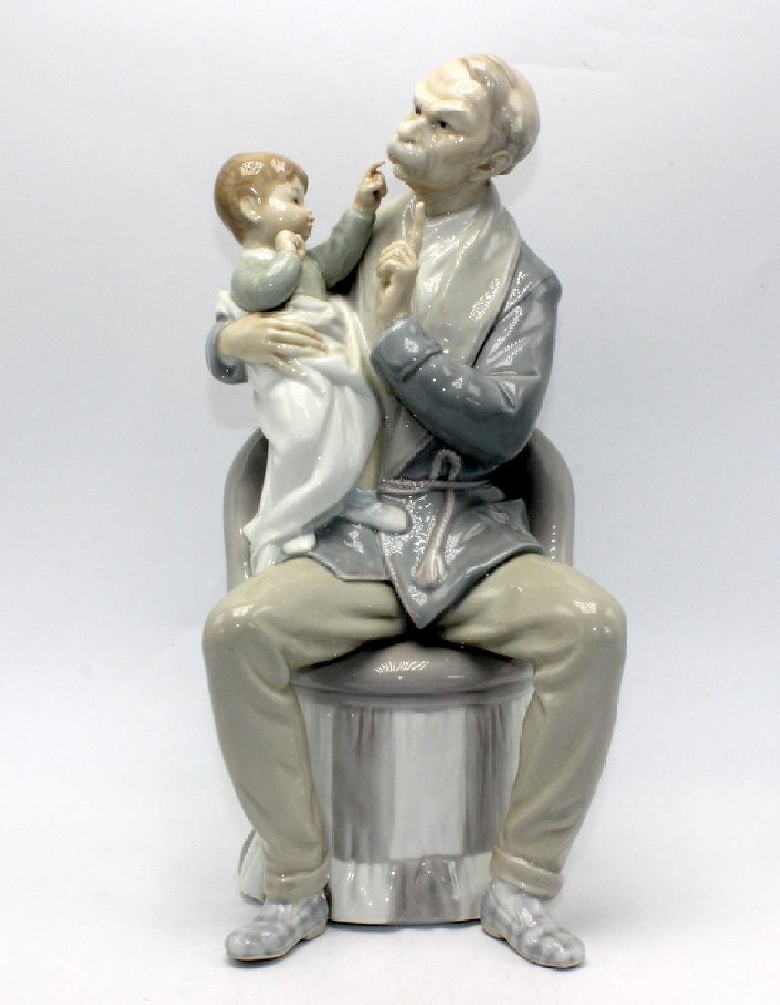 "Lladro #4654 ""The Grandfather"""