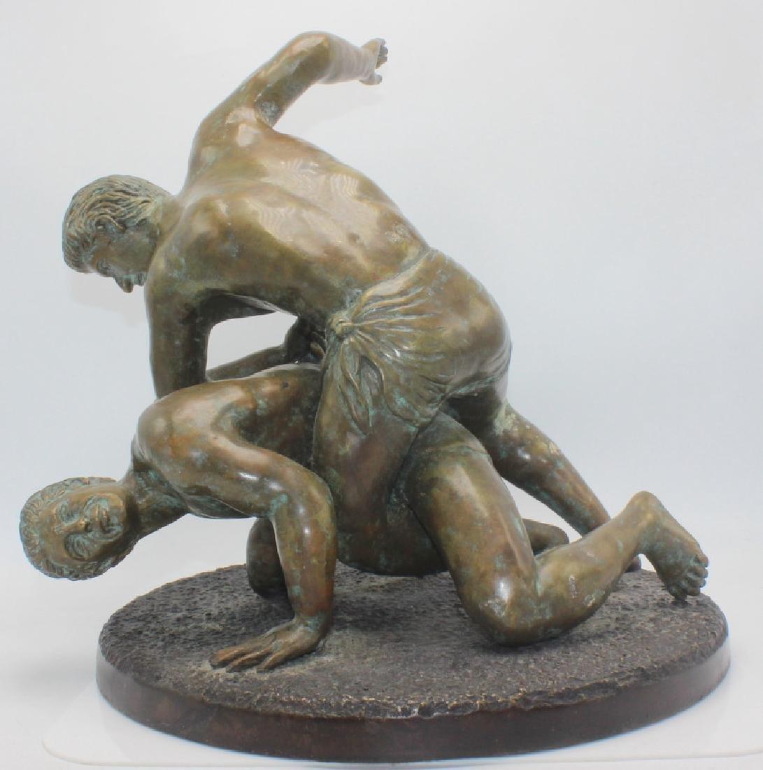 Maitland-Smith Bronze of Wrestlers - 2