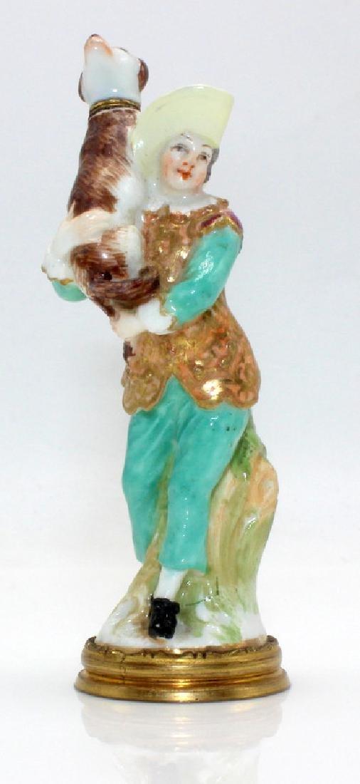 Meissen Porcelain Scent Bottle