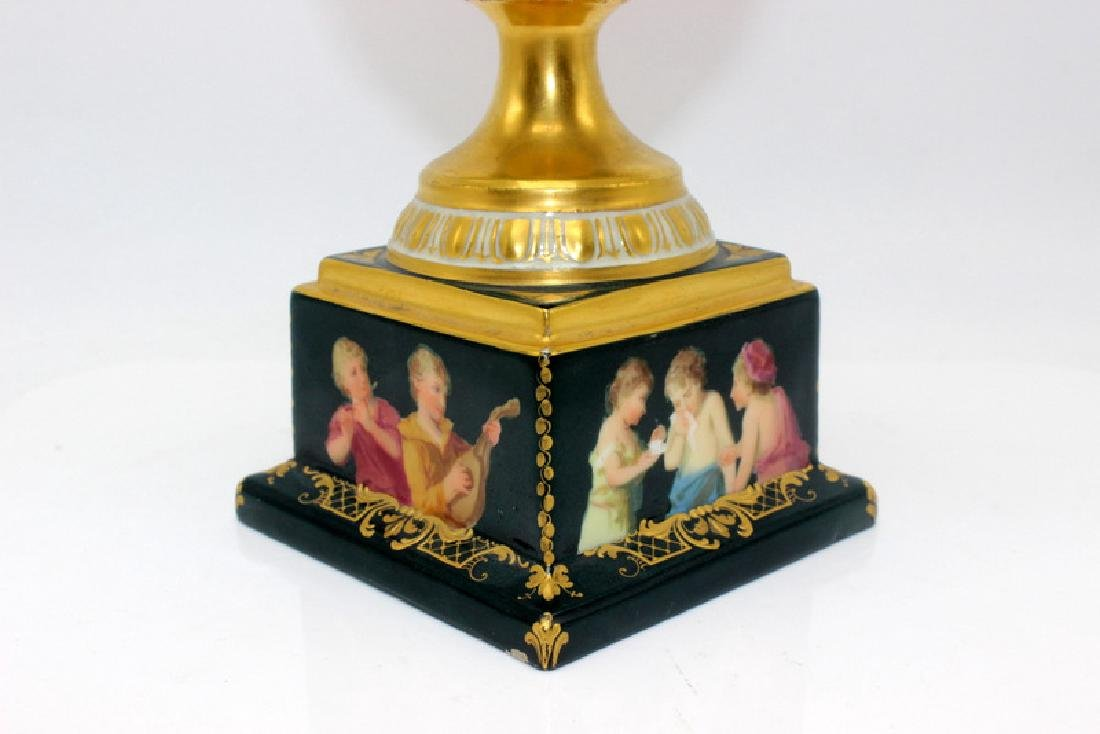 Royal Vienna Hand Painted Vase - 4