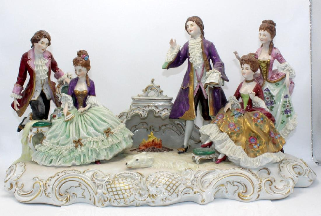 Dresden Porcelain Group